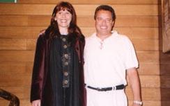 Con Luis Kaplun en Gea 2002.
