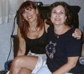 Con los integrantes de la Asociación Astrológica Cyclos, en Barcelona año 2001.
