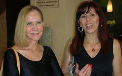 Con mi amiga la astróloga franco-venezolana Christiane Merlo Z. en el Congreso de Alicante.