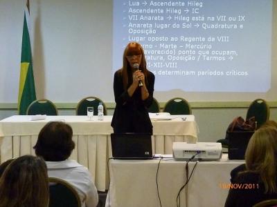 Exponiendo en el Congreso SINARJ Rio de Janeiro 2011