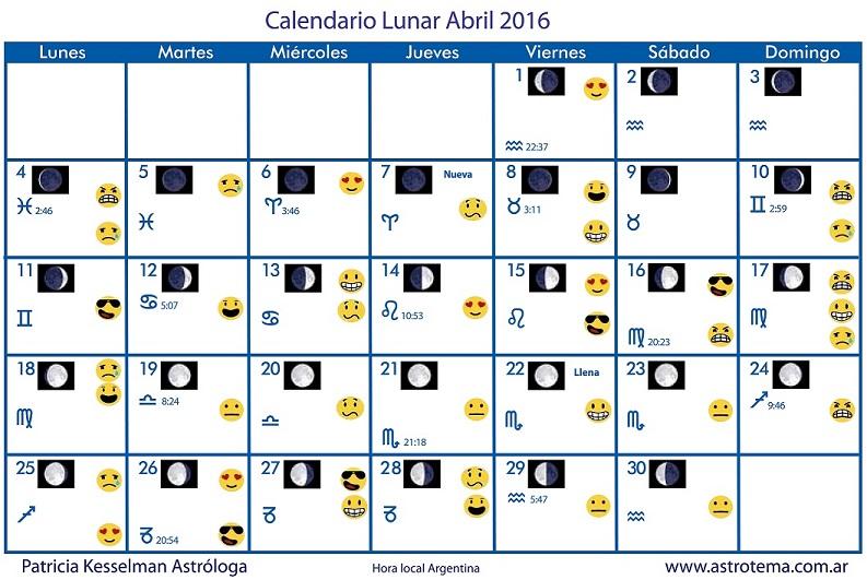 Calendario Lunar – Patricia Kesselman